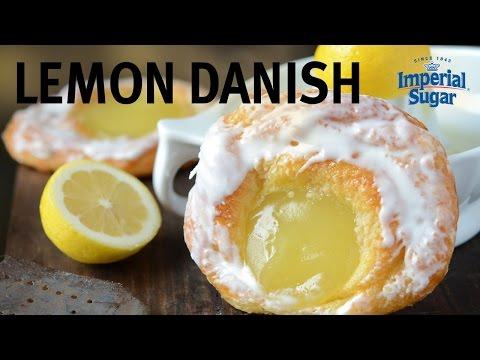 Quick & Easy Semi-Homemade Lemon Curd Danish Recipe