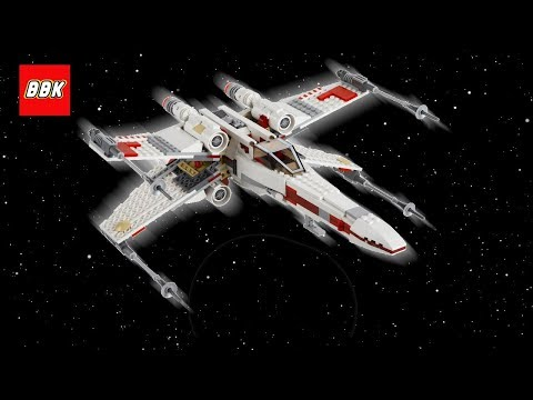 LEGO Star Wars X-Wing Starfighter 9493 Quick Lego Review