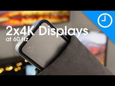 Mantiz Titan multi-video dock: TWO 4K displays at 60 Hz [9to5Mac]