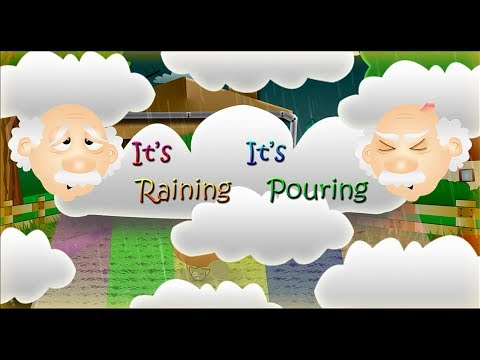 IT'S RAINING, IT'S POURING | Nursery Rhyme Express | Animation | Sing Along | Songs for Kids