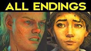 The Walking Dead Season 4 Episode 1 All Endings (bad Ending 1   Good Ending 2)   Secret Ending