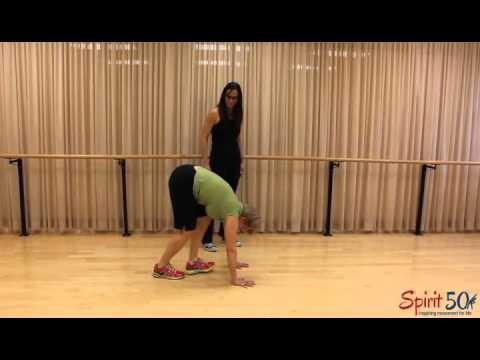 Full body exercise- caterpillar walk