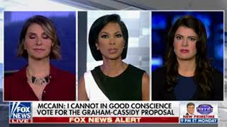 """Objective"" Fox host obviously peeved that McCain won"