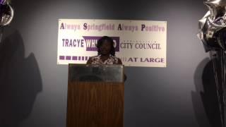 Tracye Whitfield, Springfield City Counil candidate