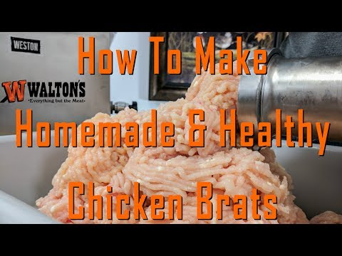 How To Make Healthy Chicken Brats