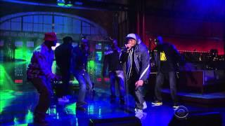 Wu-Tang Clan - Ruckus In B Minor  Letterman 2014 11 25