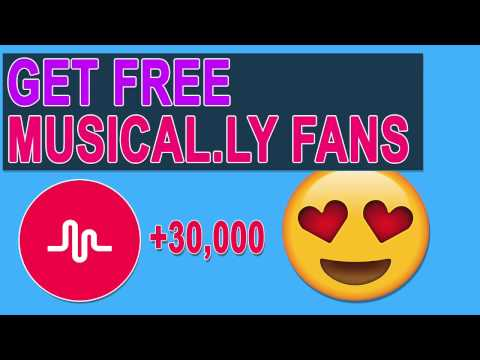How to get Musically Followers / Fans | FREE FAST Musical.ly Followers UNLIMITED 2017