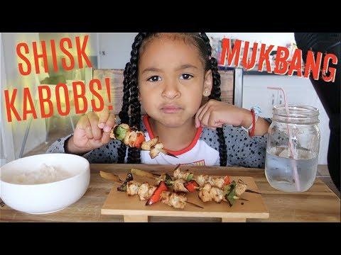 SHISK KABOB MUKBANG! *Japanese Teriyaki Chicken*