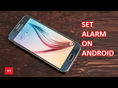Set alarm in android