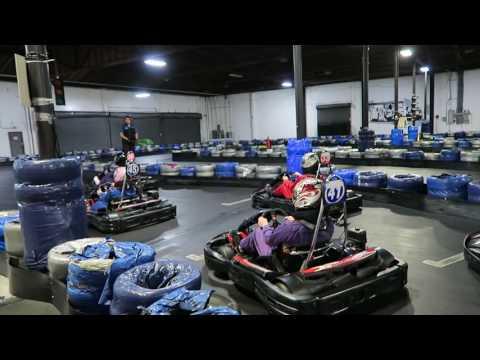 VLOG 1 | Indoor Go-Kart Racing