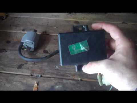 How to test motorcycle CDI box, ignition coil
