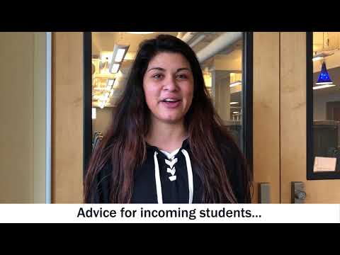Our seniors with advice for incoming students.