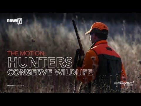 2-Minute Debate: Do Hunters Conserve Wildlife?