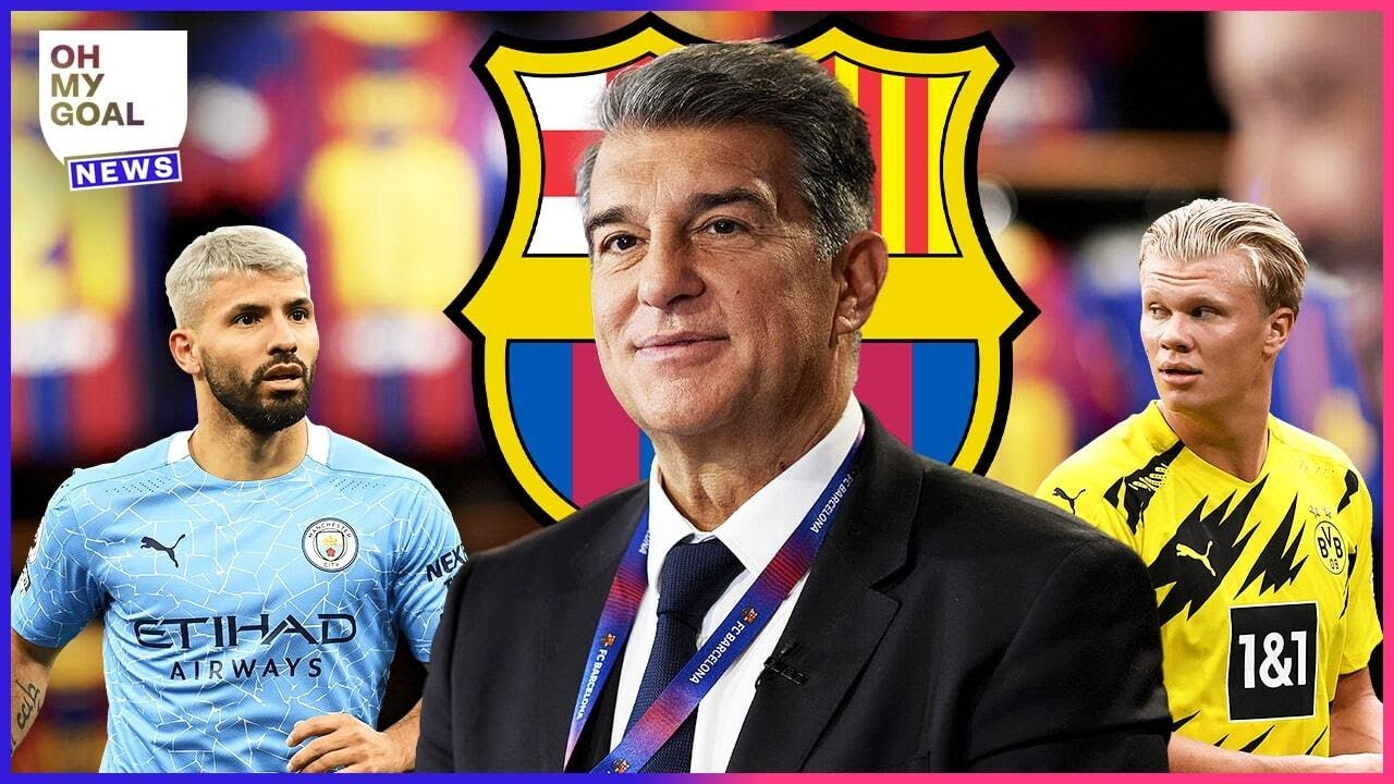 The 4 players Joan Laporta wants to bring to FC Barcelona | Oh My Goal