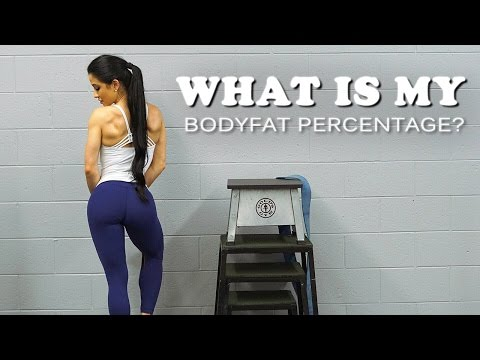 What is My Percent BODYFAT? | Workout for GLUTE Growth