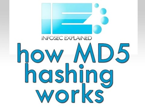 MD5 Hash Tutorial 2015 - What the MD5 hash means and how to use it to verify file integrity.