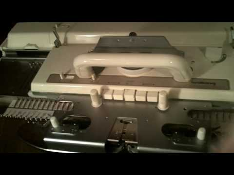 Brother Knitting Machine Magnet repair - fix patterning error - How to