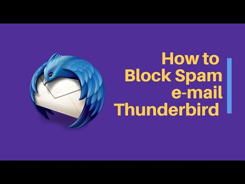 How to Block Unwanted Spam Email in Thunderbird Mail