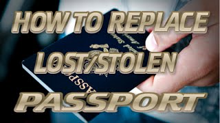 Philippines Expat How To Replace Lost Stolen Passport And Get An Emer