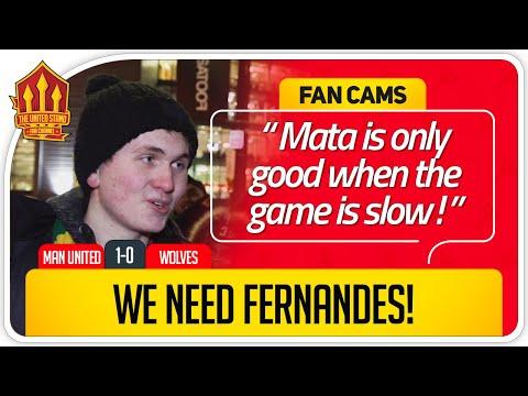 Solskjaer Won The Bore! Manchester United 1-0 Wolves FanCam