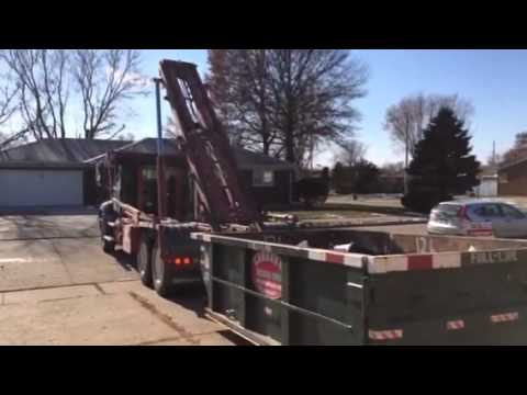 (563) 332-2555 10 Yard Dumpster Rental Toronto, Iowa