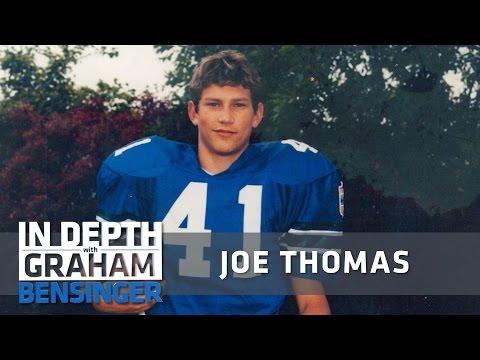 Joe Thomas' massive puberty growth spurt