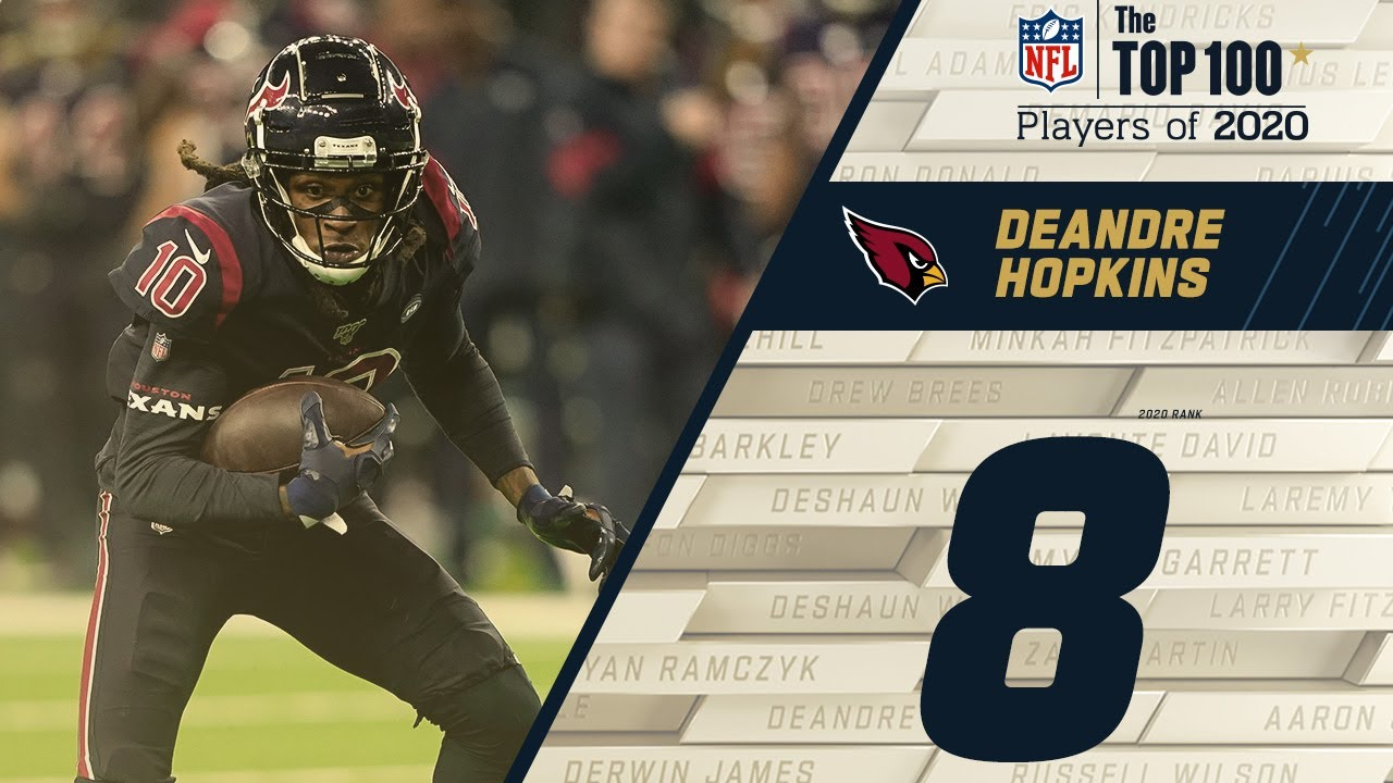 #8: DeAndre Hopkins (WR, Cardinals) | Top 100 NFL Players of 2020