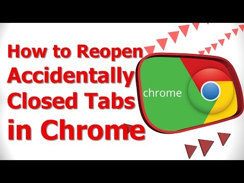 How to Reopen Accidentally Closed Tabs in Chrome