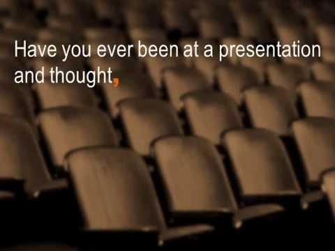 No more boring presentations...