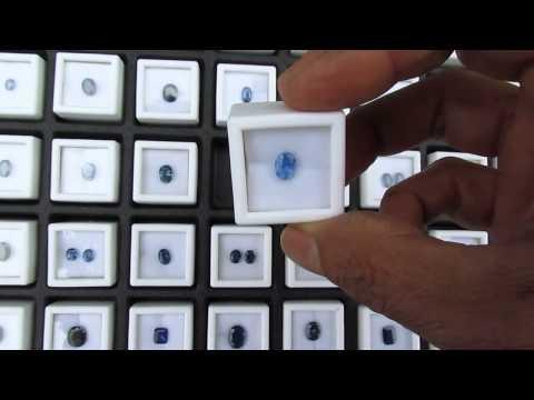 Blue Sapphire Gemstone Lot Liquidation