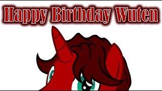Happy Birthday Wuten!