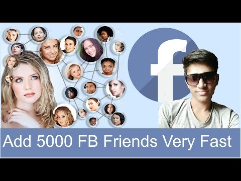 How to Add 5000 Facebook Friends Very Fast | Shubham Jangid | (Hindi/Urdu)
