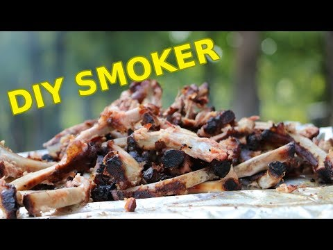 CHEAP DIY Smoker!
