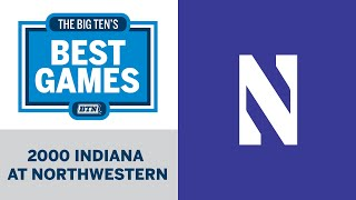 2000 Indiana at Northwestern | Big Ten Football |Big Ten