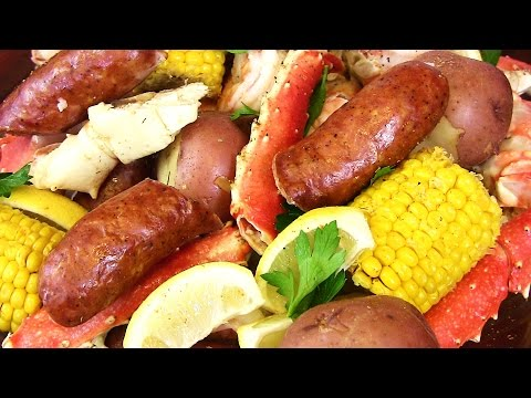 Seafood Boil! Crab, Sausage, Shrimp & Potatoes Oh My!  |Cooking With Carolyn