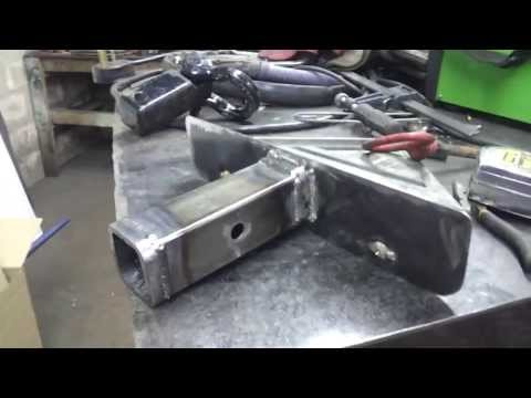Custom License Plate Mount - Receiver Hitch