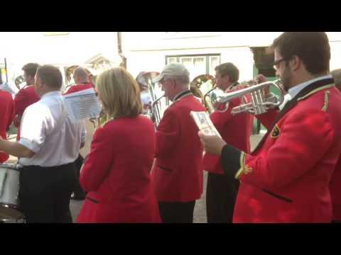 Pittington Brass marchs back