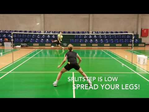 Badminton - diving defensive work