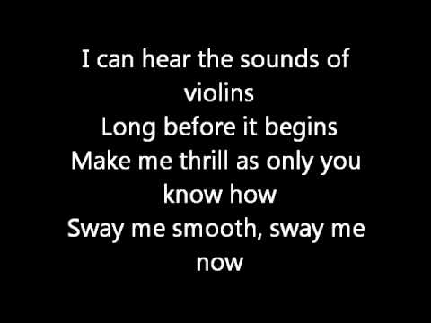 michael buble - sway lyrics