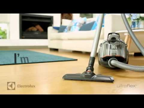 Electrolux Ultraflex™ bagless canister vacuum