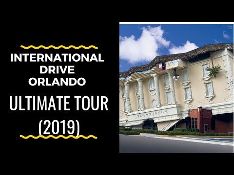 International Drive Orlando Tour ULTIMATE (2018)