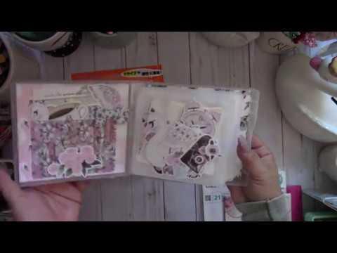 Daiso Altered Soft Album Case ~Planner Embellishment Case