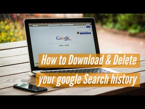 How to See, Download & Delete your Google Search history