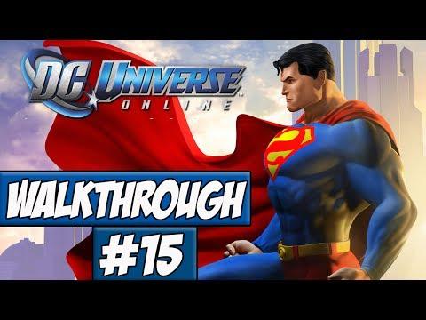 DC Universe Online Walkthrough Ep.15 w/Angel - Area 51!