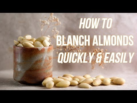 How To Blanch Almonds Quickly