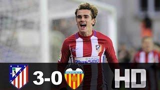 Atlético Madrid vs Valencia (3-0) RESUMEN & GOLES / All Goals and Highlights 05/03/17 HD