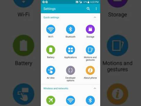How to change colors on your galaxy s5