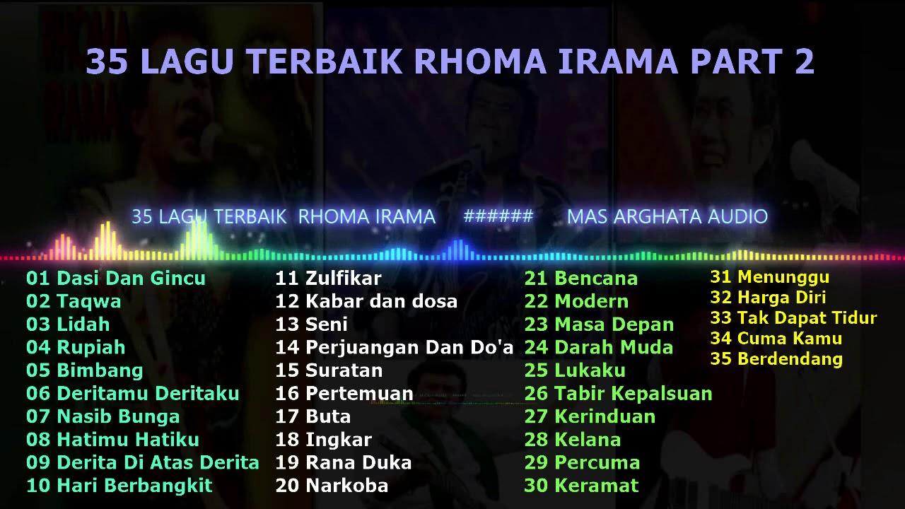 Download 35 DANGDUT TERBAIK  RHOMA IRAMA PART 2 FULL MP3 Gratis