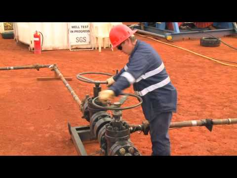 Historic oil discovery in Central Australia