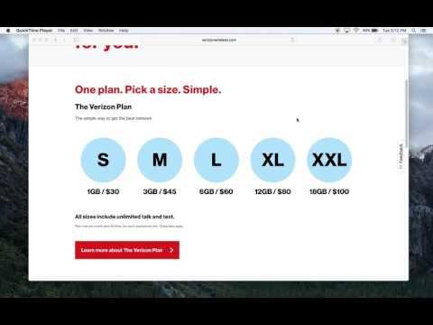 The New Verizon Wireless Plans